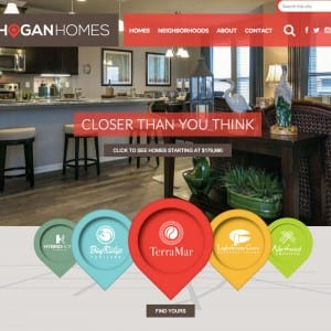 hogan homes website home page